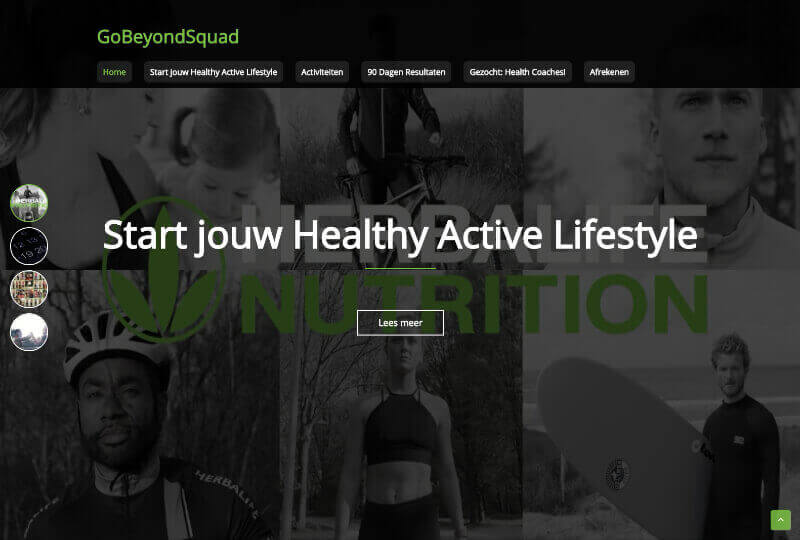 GoBeyondSquad - Website